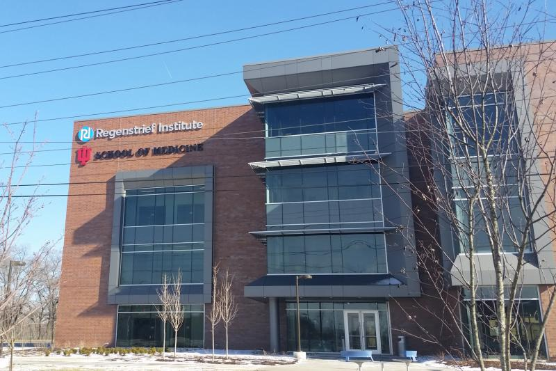 The Regenstrief Institute in Indianapolis. (Lauren Chapman/IPB News)