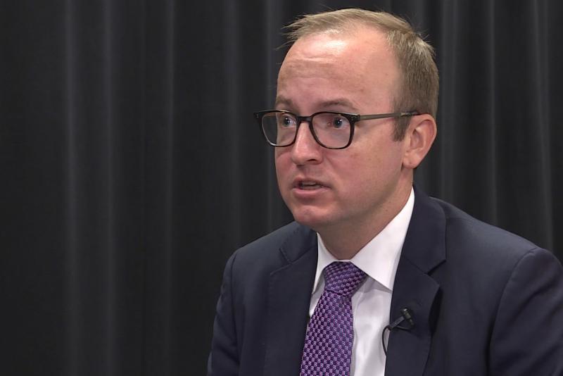 Democrat Jim Harper discusses key issues in Secretary of State race. (WFIU/WTIU)