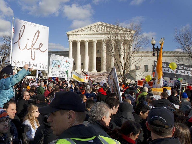 Abortion opponents see the confirmation of Brett Kavanaugh to the U.S. Supreme Court as an opportunity to push for further abortion restrictions. Abortion supporters are preparing for a fight.