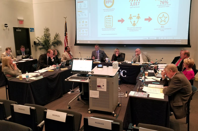 The State Board of Education approved the results of the 2018 ISTEP+ scores. The results were delayed due to a grading error. (Jeanie Lindsay/IPB News)