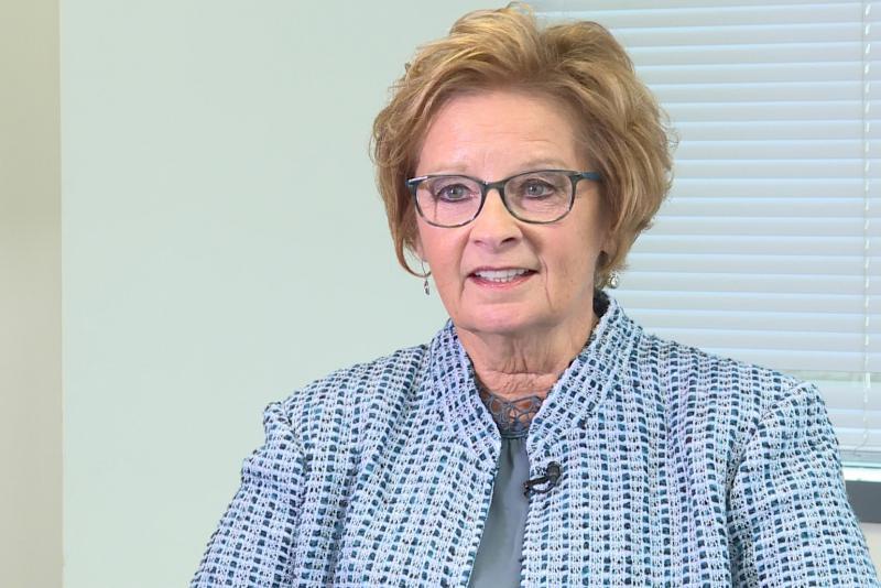 Republican incumbent Connie Lawson discusses key issues in Secretary of State race. (WFIU/WTIU)