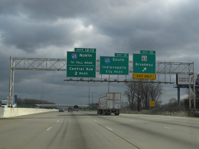 Gov. Eric Holcomb announced he won't move forward with a plan to toll Indiana's interstate highways. (Ken Lund/Flickr)