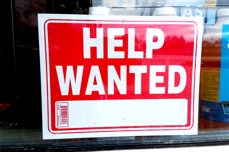 Indiana's unemployment rate remained at 3.5 percent in October for the third month in a row. (Lauren Chapman/IPB News)