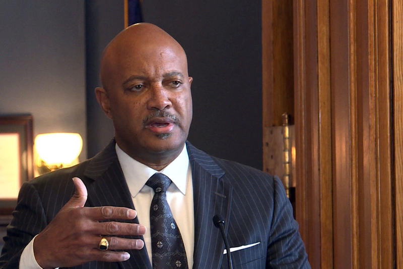 Attorney General Curtis Hill signed Indiana onto the lawsuit, challenging the Affordable Care Act's individual mandate. (Lauren Chapman/IPB News)