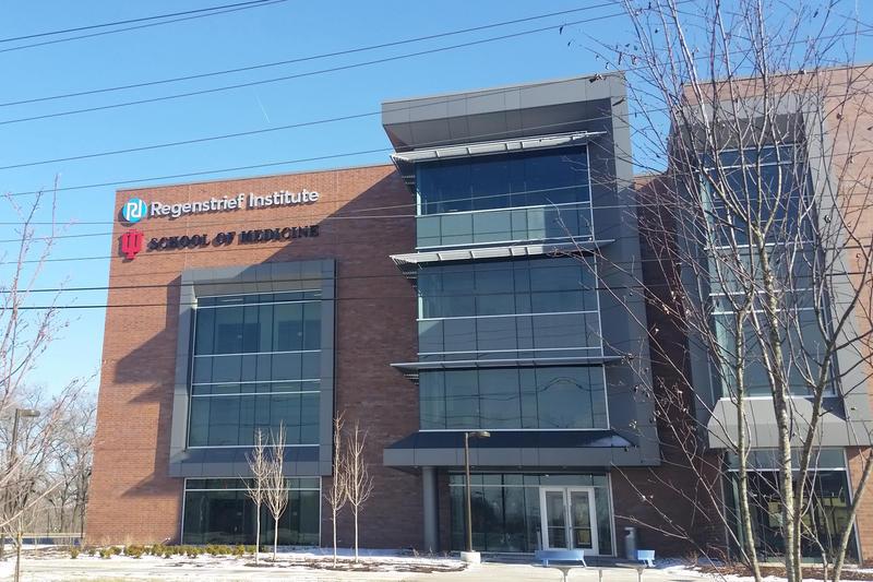 Regenstrief Institute in Indianapolis. (Lauren Chapman/IPB News)