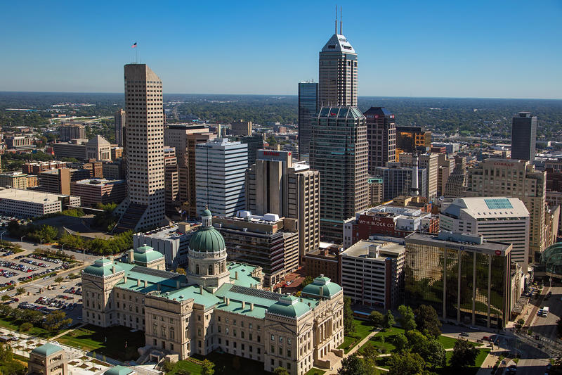 Downtown Indianapolis. (Wikimedia Commons)