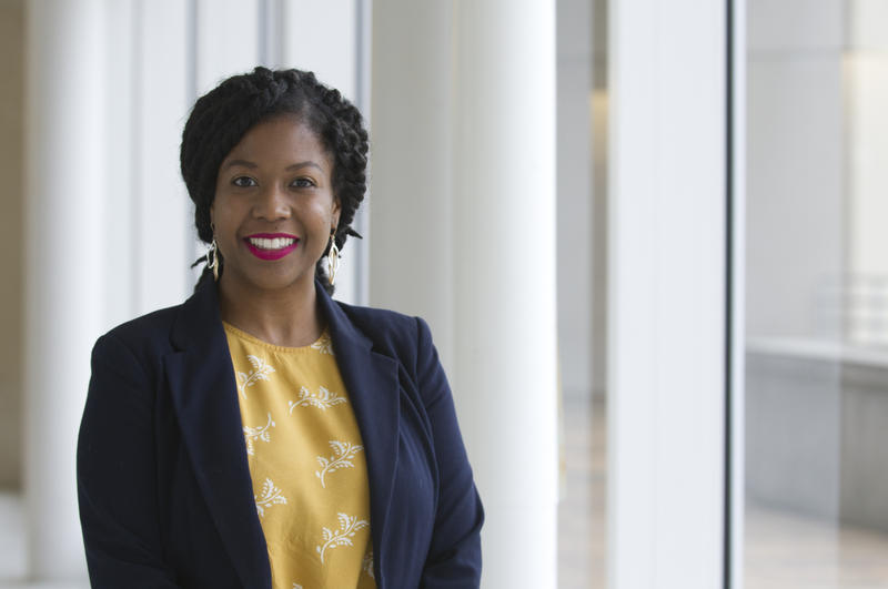Breanca Merritt is the director of the new Center for Research on Inclusion and Social Policy. (Photo courtesy of IUPUI)