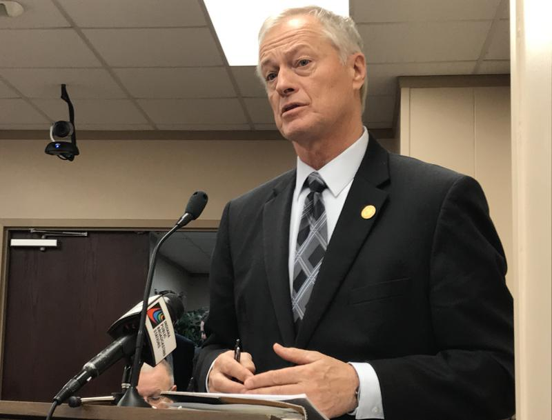 Rep. Randy Frye's (R-Greensburg) bill aims to help solve Indiana's jail overcrowding problem by moving some inmates to Department of Correction facilities. (Brandon Smith/IPB News)