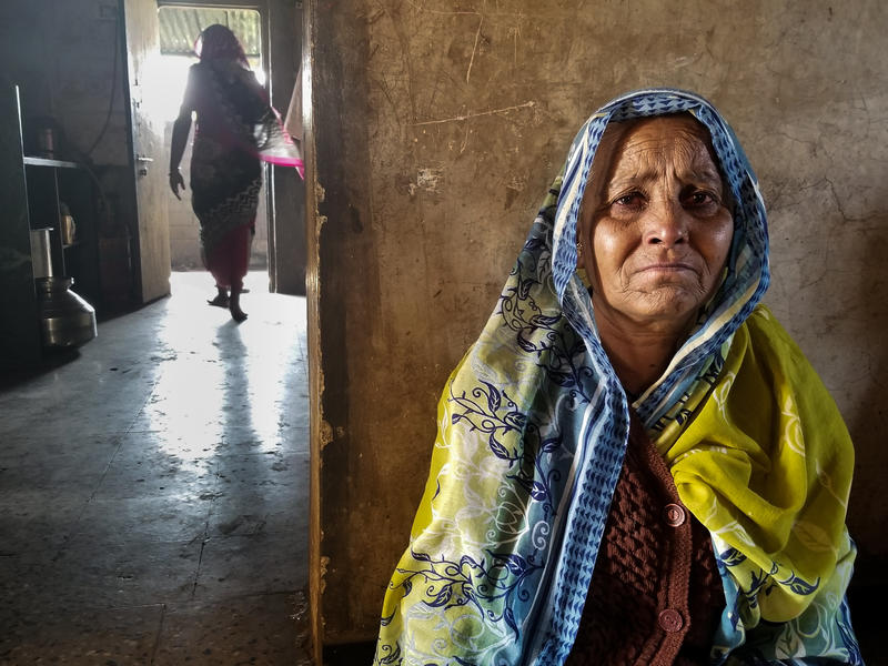 Irabai Jadhav, 60, is the matriarch of a family of onion farmers in Maharashtra. Her eldest son killed himself in late November. He was about $40,000 in debt. Jadhav's husband died of a heart attack 12 days later. Now she is left with all their bills.
