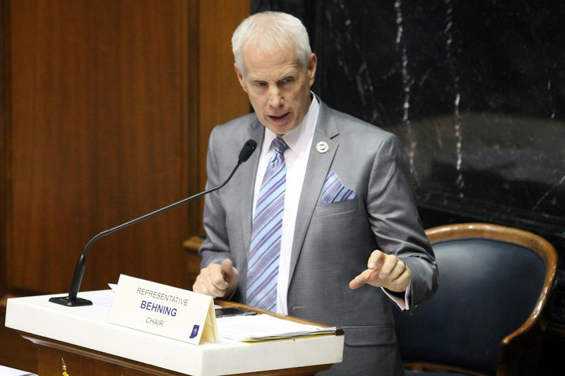 Rep. Bob Behning (R-Indianapolis) chairs the House Education committee. (Lauren Chapman/IPB News)