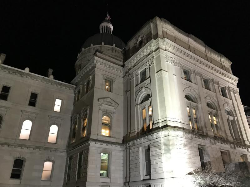 There's a contentious debate in Indiana's 2019 legislative session over whether to enact a hate crimes statute. (Brandon Smith/IPB News)