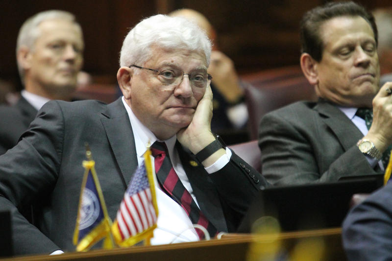 Rep. Ed Soliday (R-Valparaiso) wants a two-year moratorium on new power plants while the legislature and utility regulators help craft a comprehensive energy plan for the state. (Lauren Chapman/IPB News)