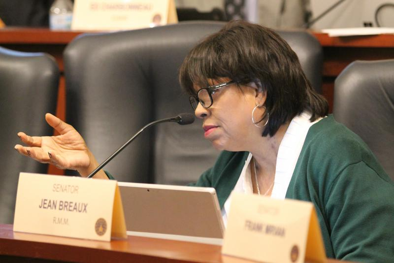 Sen. Jean Breaux (D-Indianapolis) is the bill's author. She says the legislature was more focused on limiting women's access to health care than reducing infant mortality. (Lauren Chapman/IPB News)