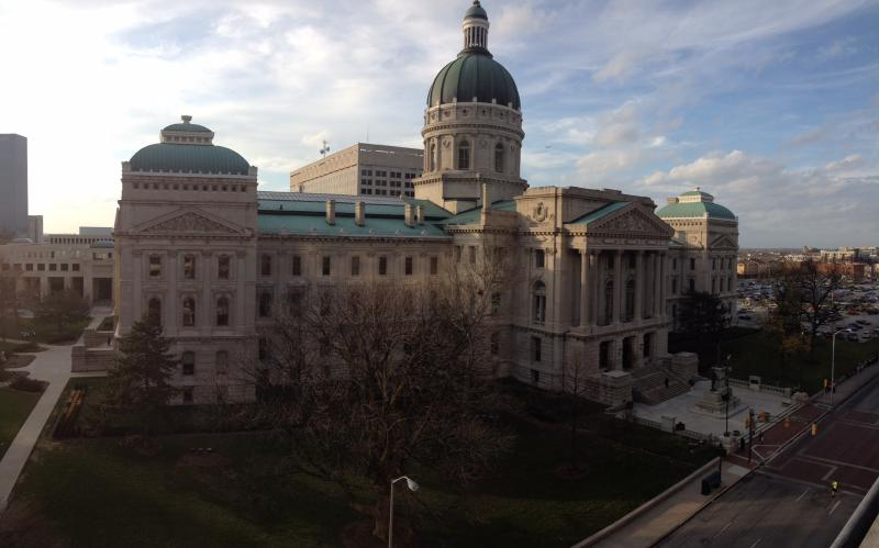 The Indiana Statehouse (Brandon Smith/IPB News)