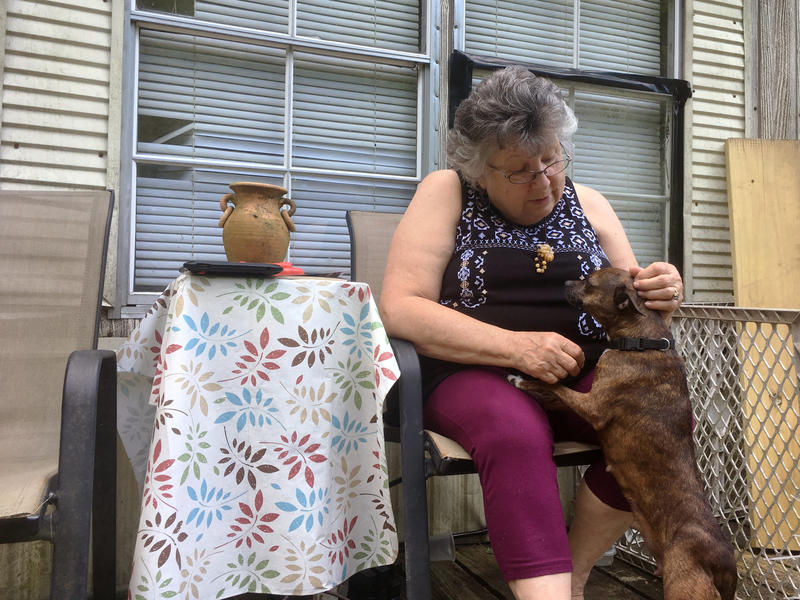 Leitha Dollarhyde, a retired caregiver who lives in a rural town near Whitesburg, Ky., says she could not afford an unexpected $1,000 expense.