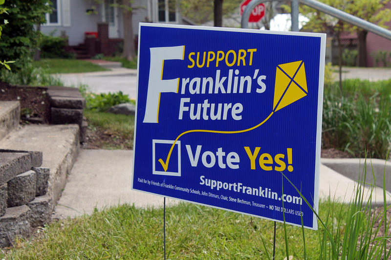 This year's first round of school referenda had 10 school corporations asking voters for additional funding. Six were approved and four failed. (Lauren Chapman/IPB News)