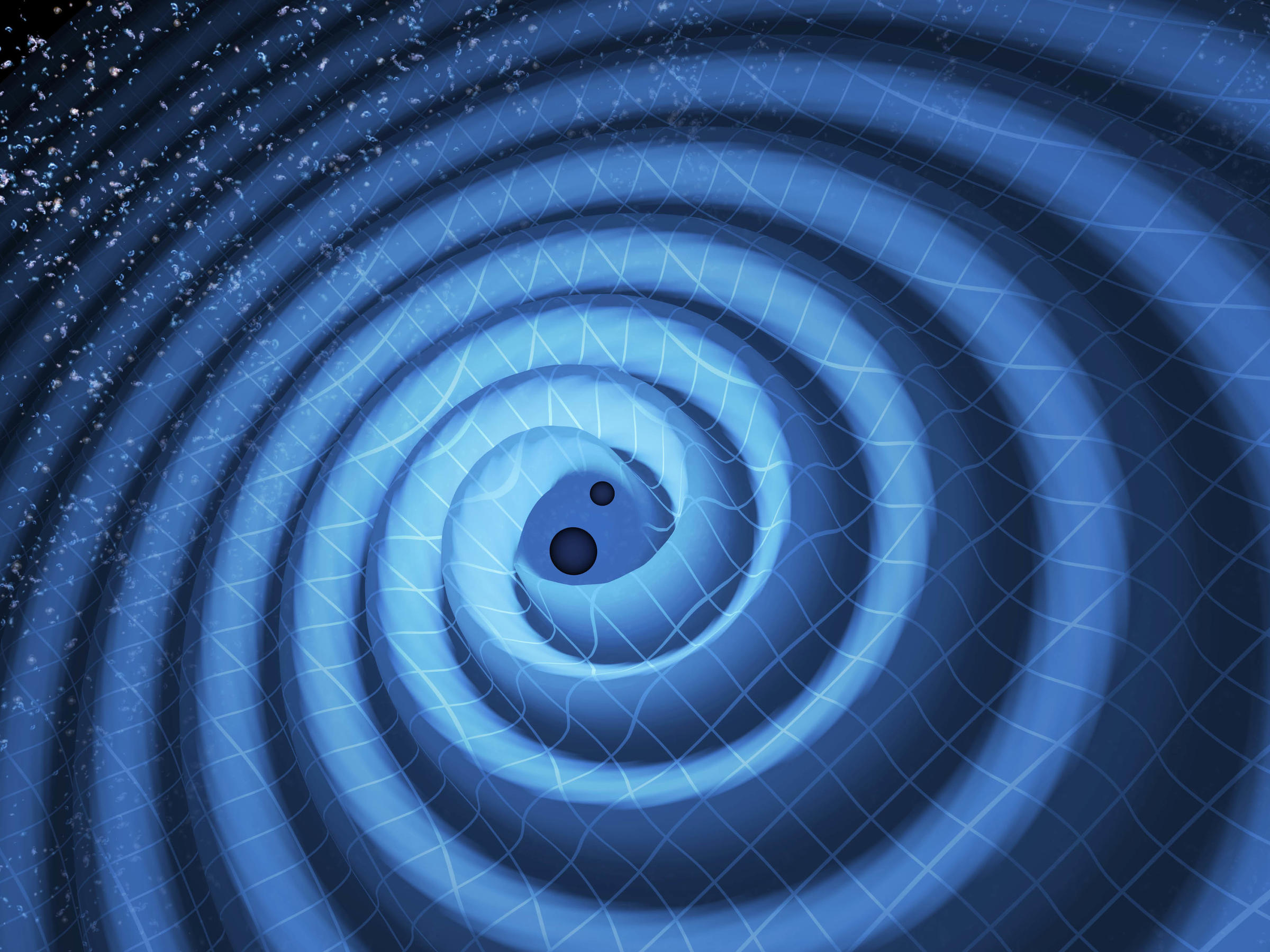 Gravitational Waves From Colliding Black Holes Shake ...