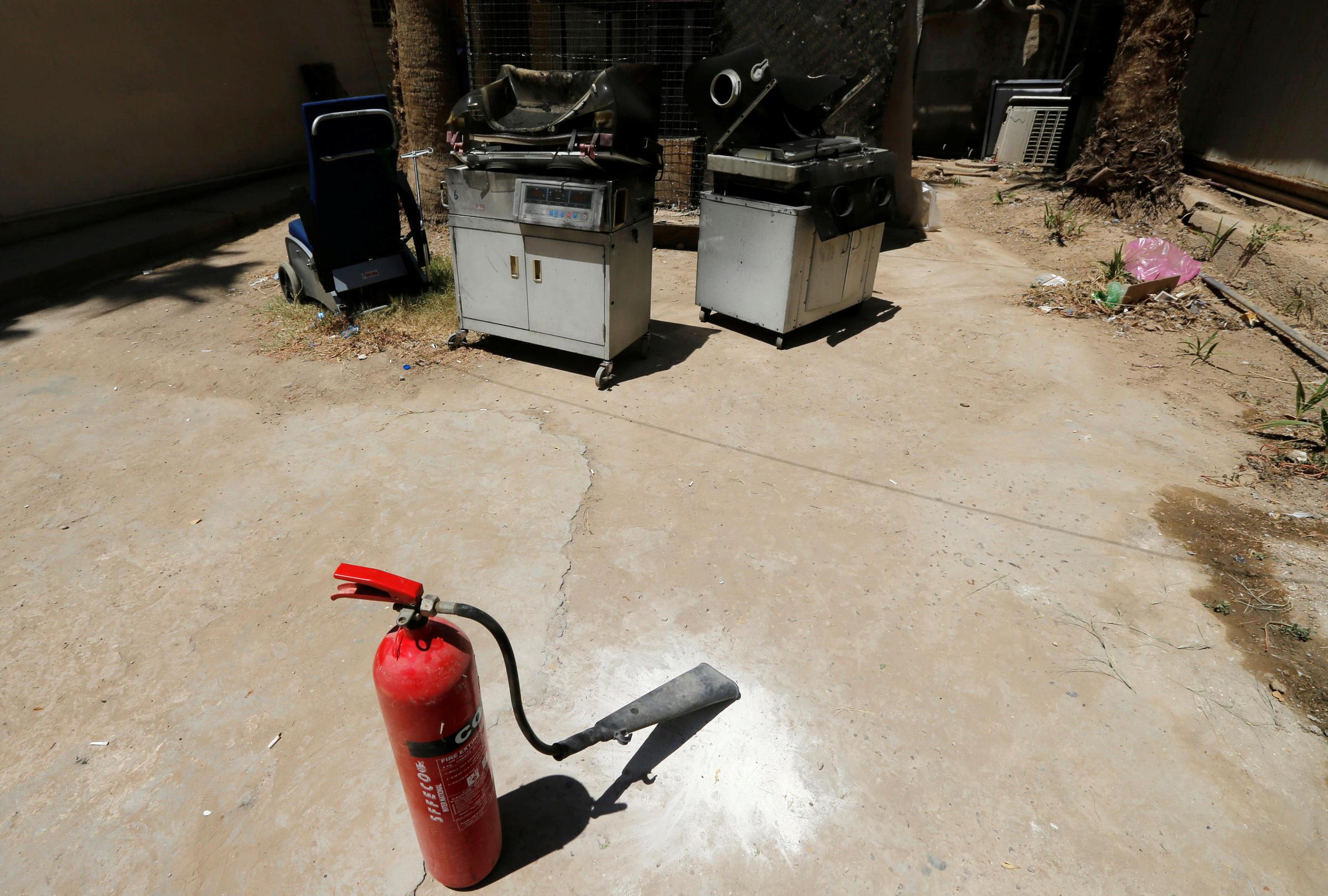 Fire At A Maternity Ward In Baghdad Kills 12 Premature