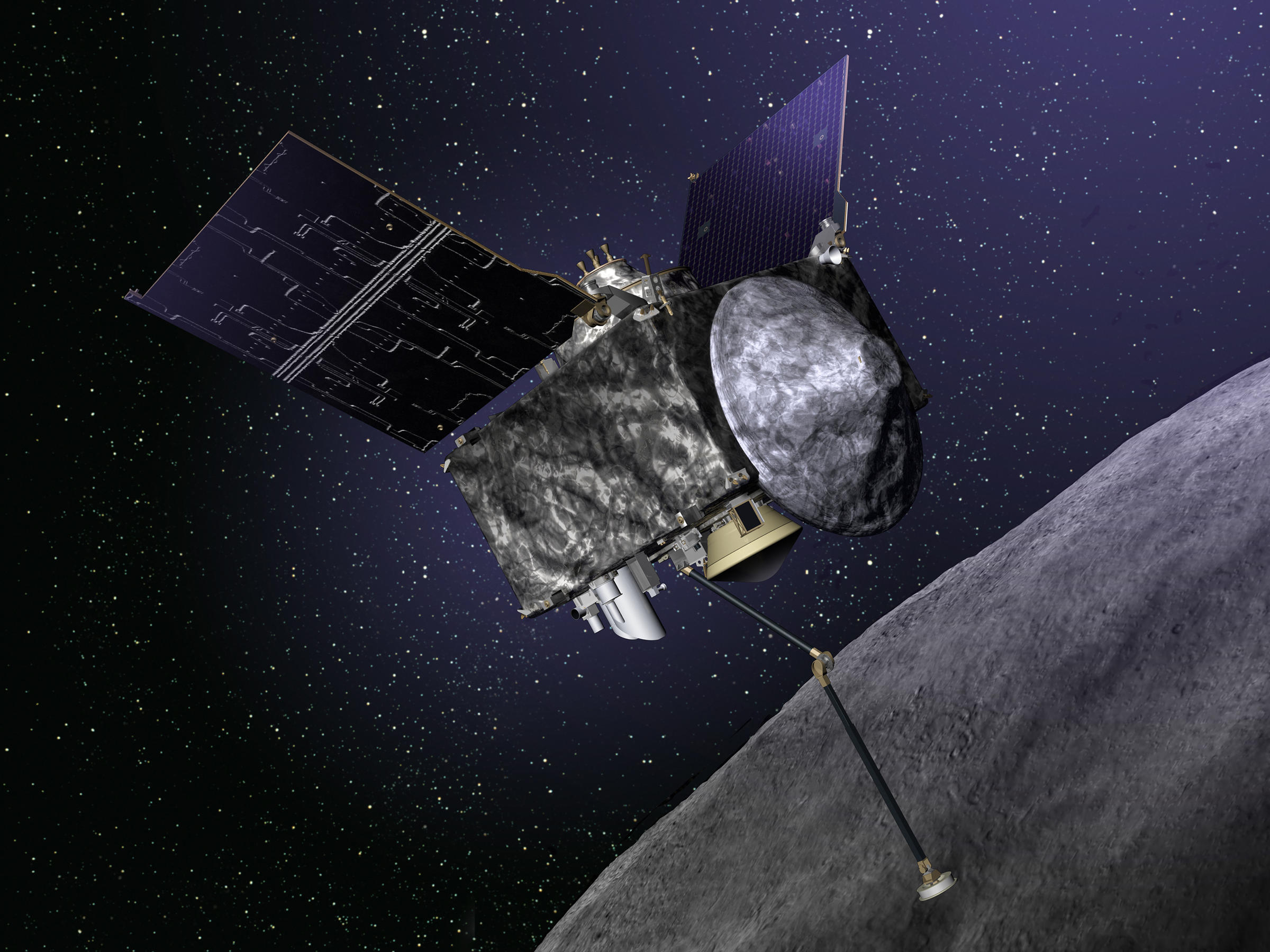 Nasa Launches Mission To Retrieve Ancient Asteroid Dust