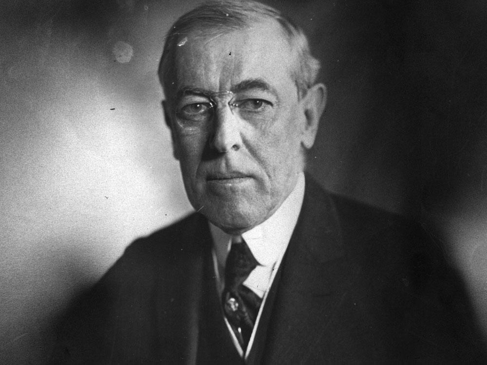 woodrow wilson peace without victory and
