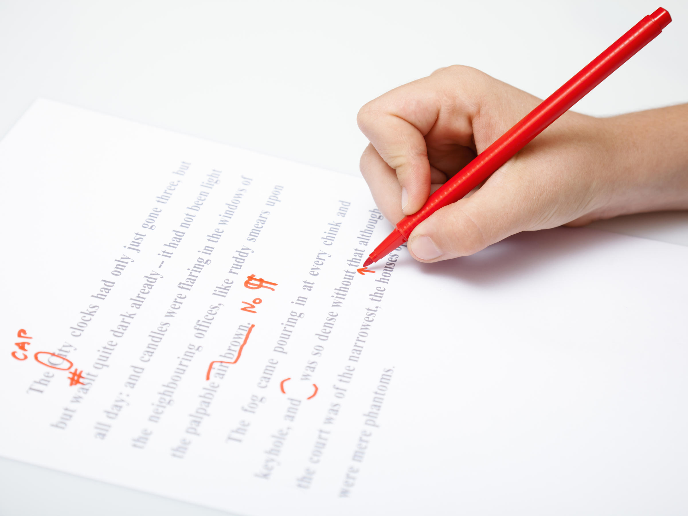 marking corrections essays Error correction in second language writing: teachers' beliefs, practices, and students' preferences correction in order to facilitate language learning.