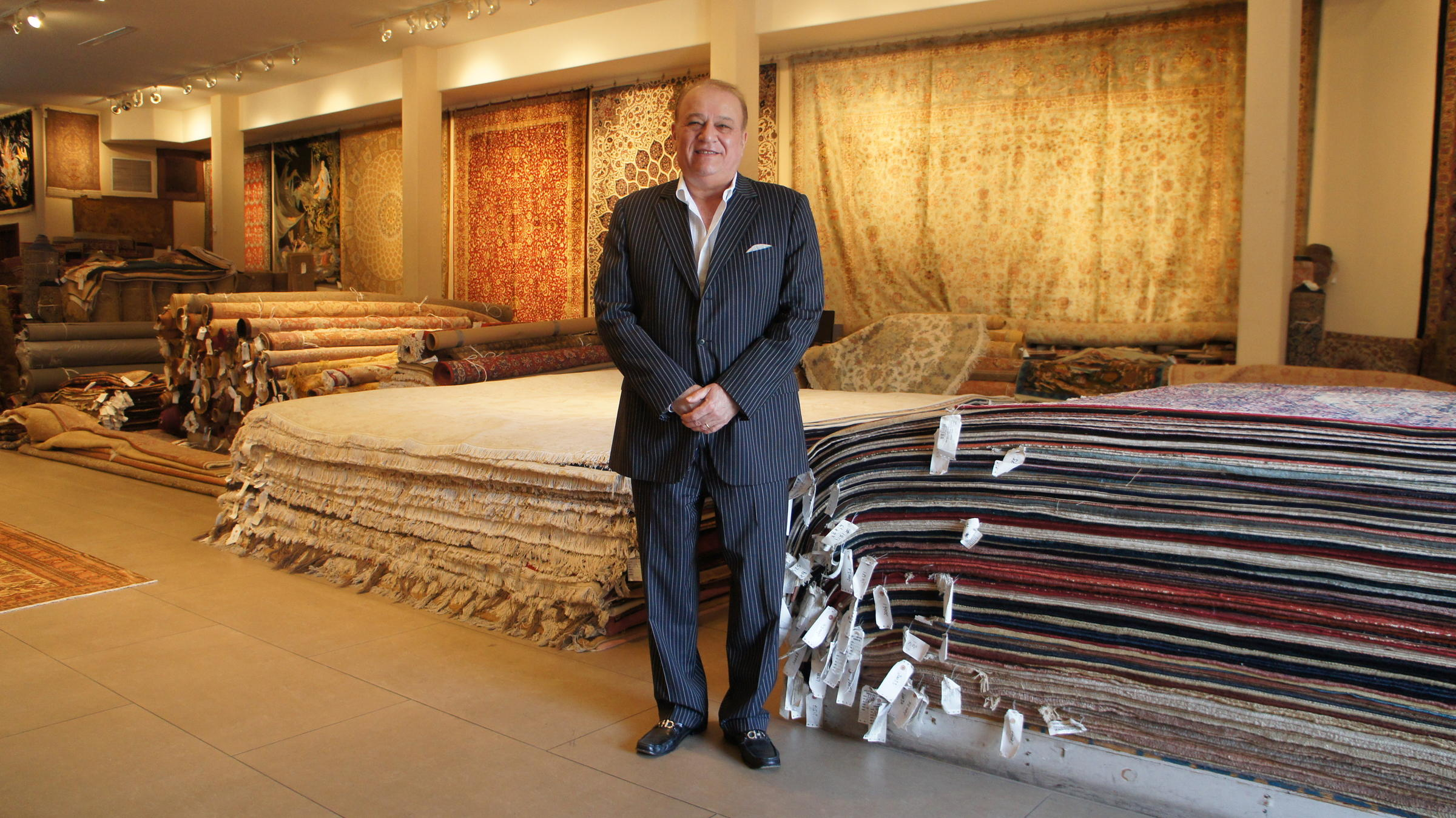 Alex Helmi Owns Damoka A Persian Rug In Los Angeles He Hopes His Business Will Benefit From The Lifting Of Us Trade Sanctions Against Iran