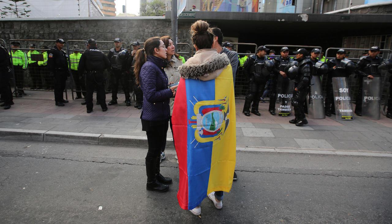 Leftist leads in Ecuador presidential vote: Exit polls