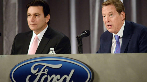 Ford CEO switch mostly about stock price, culture change