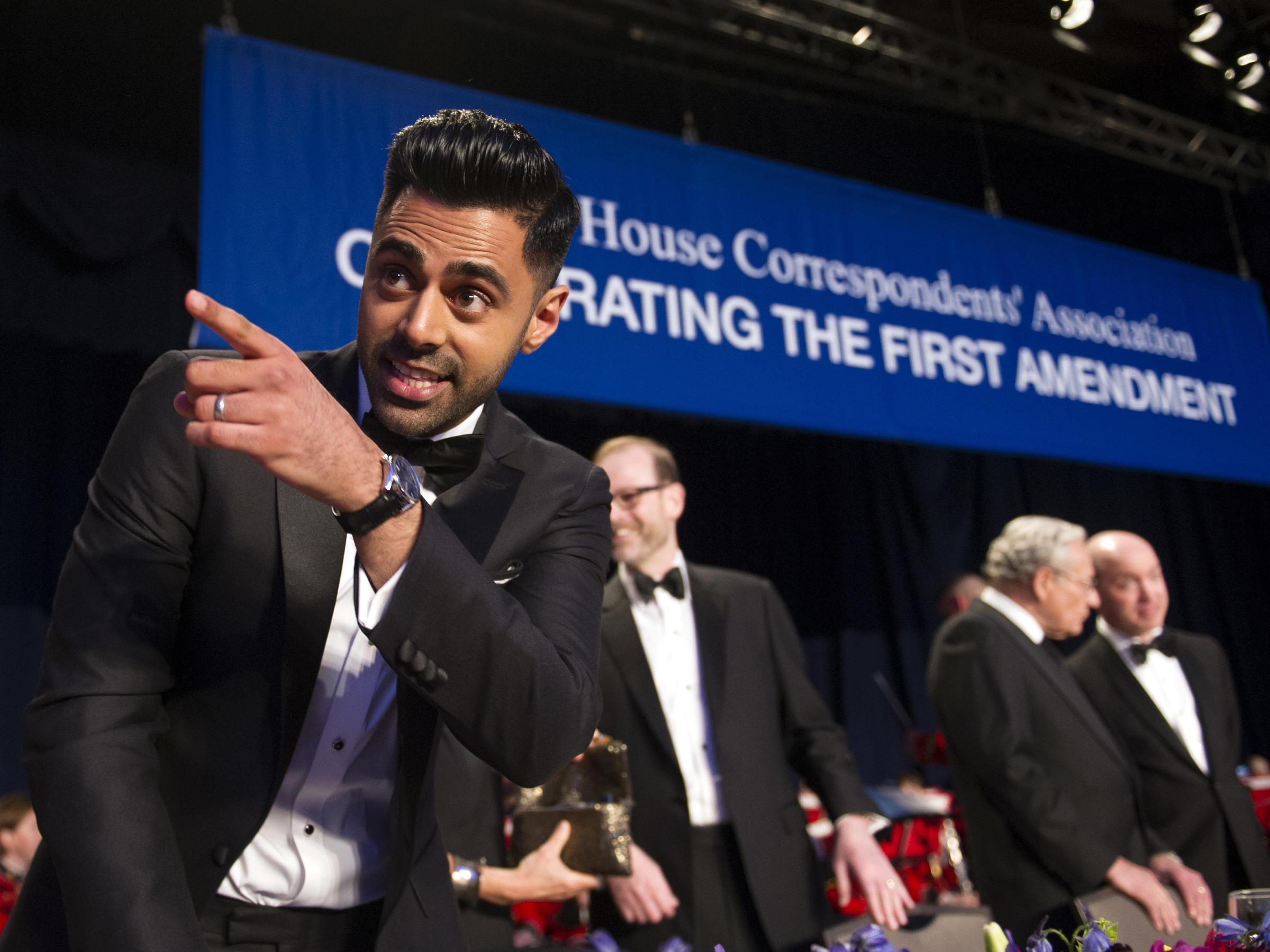 Indian-American comedian mocks Trump at WHCD show