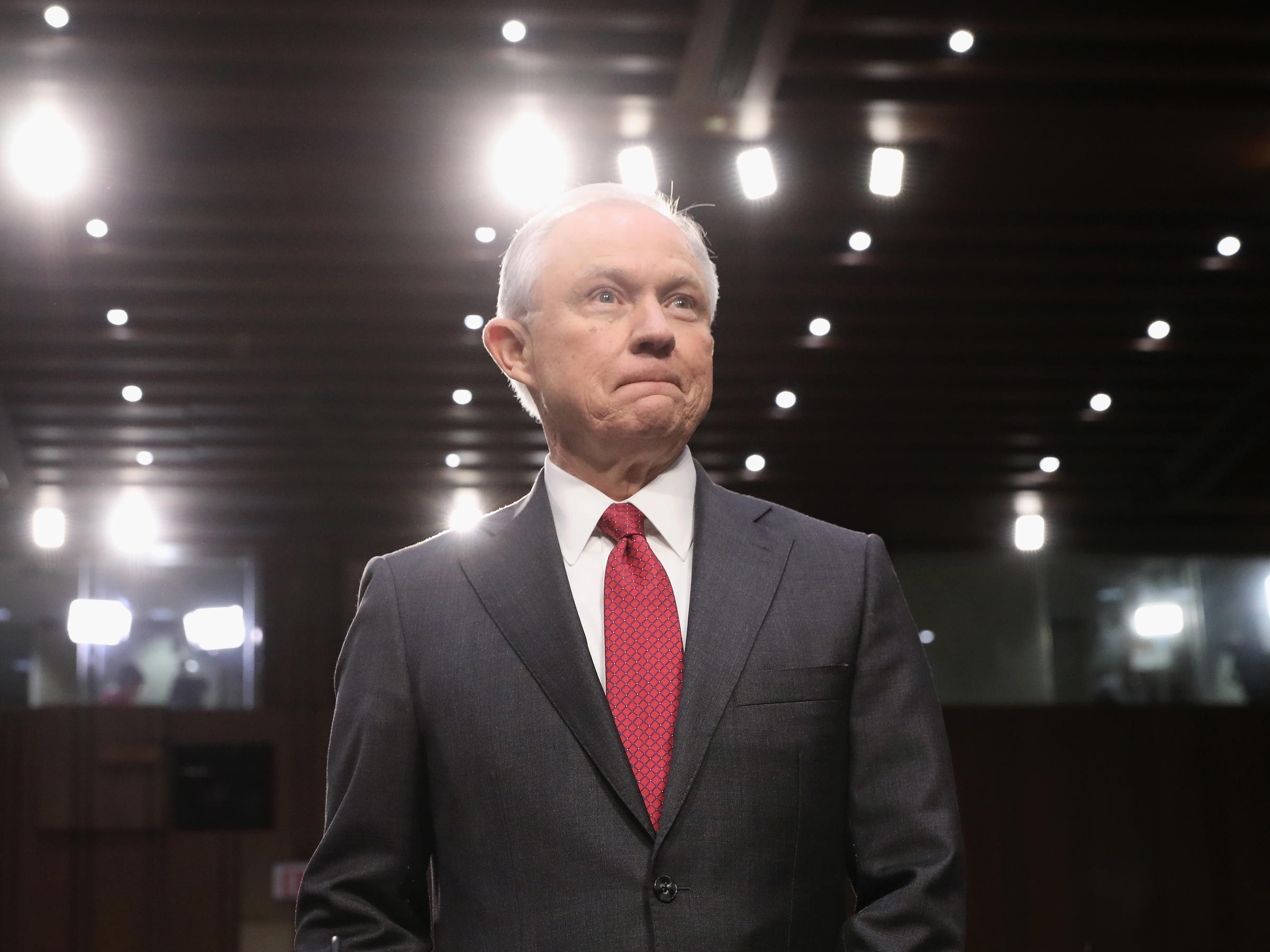 Sessions: Russia link claims a detestable lie