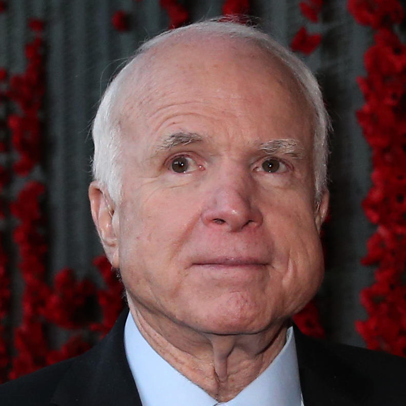 Trump phones John McCain to wish him well after brain cancer diagnosis
