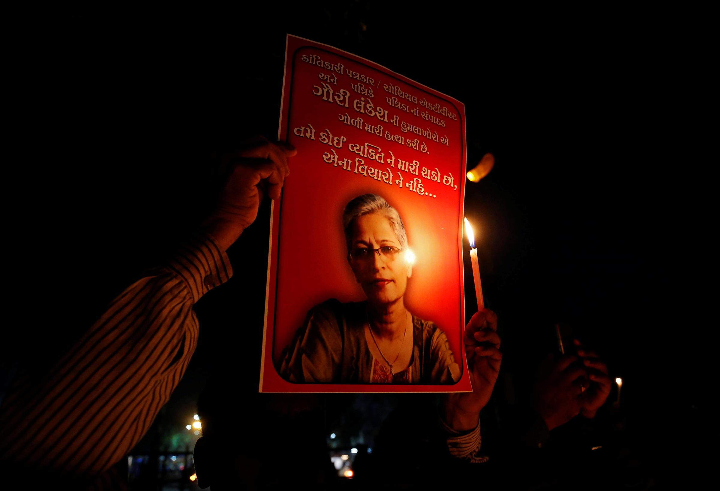 U.S. condemns killing of journalist Gauri Lankesh