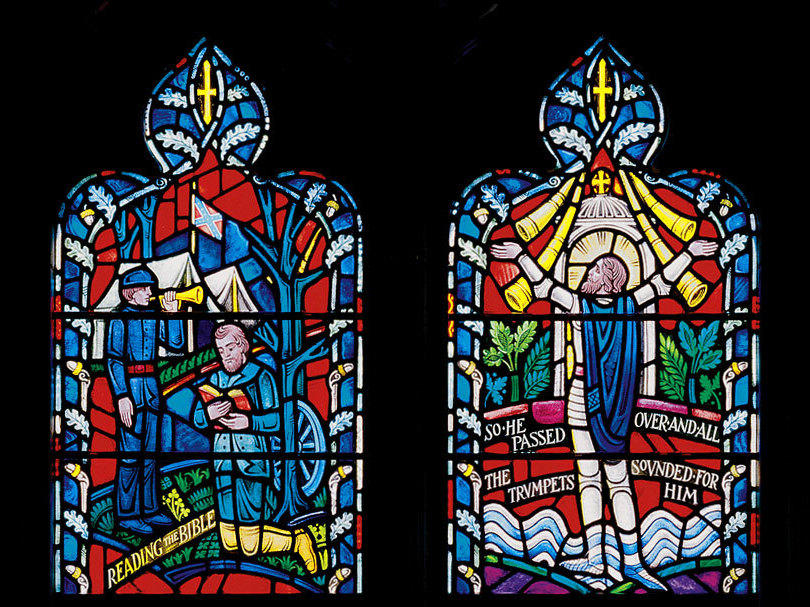 National Cathedral Is Removing Stained Glass Windows