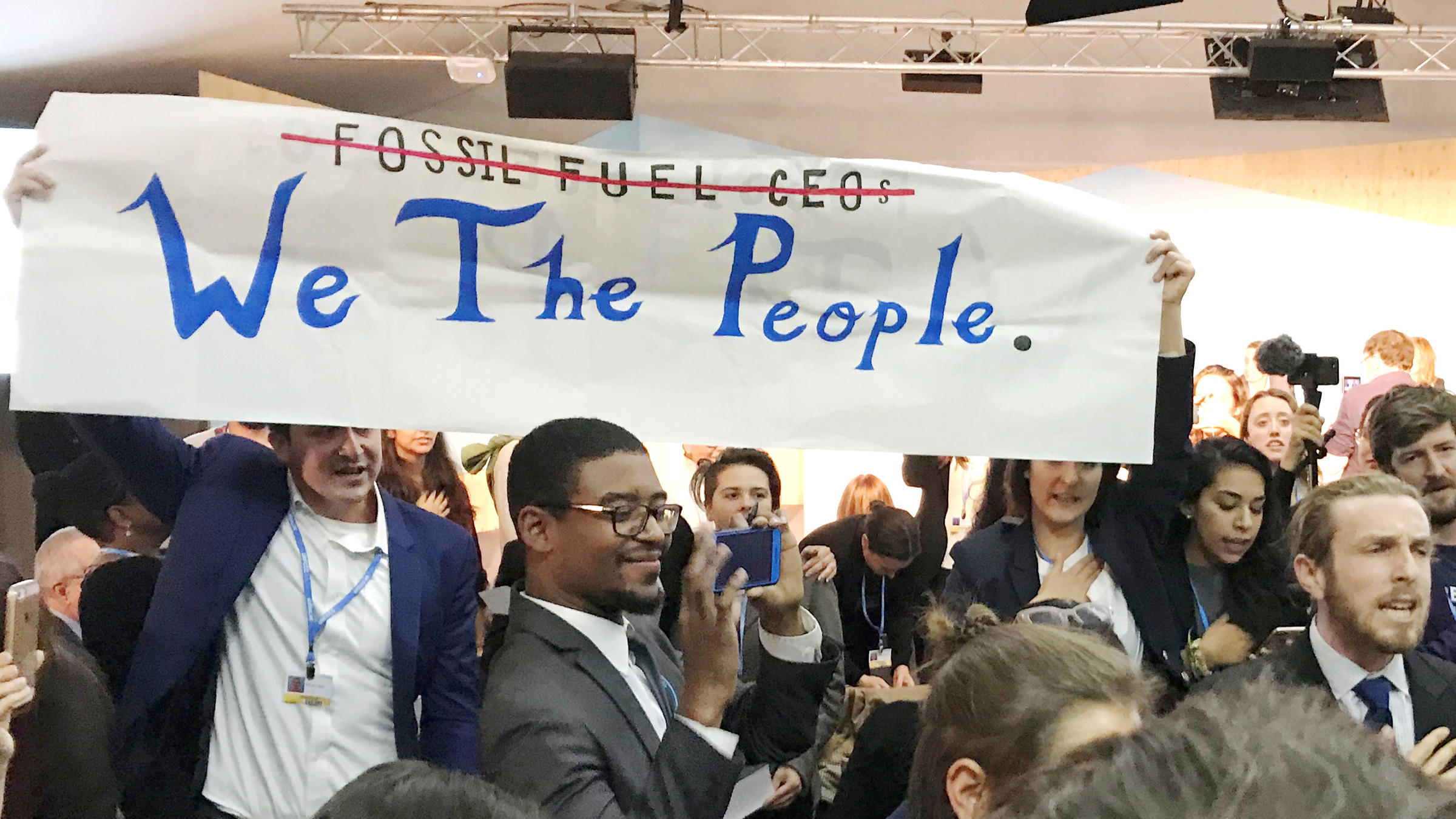 At This Years Climate Summit Some Americans Declare Were Still