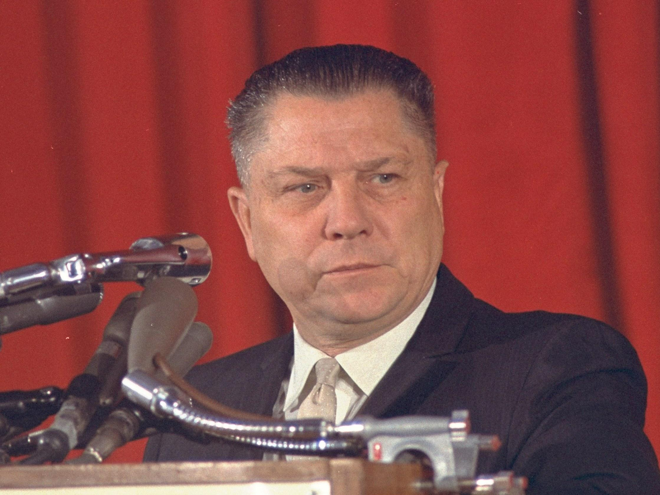 Jimmy Hoffa Still Searching Still Waiting Wjct News