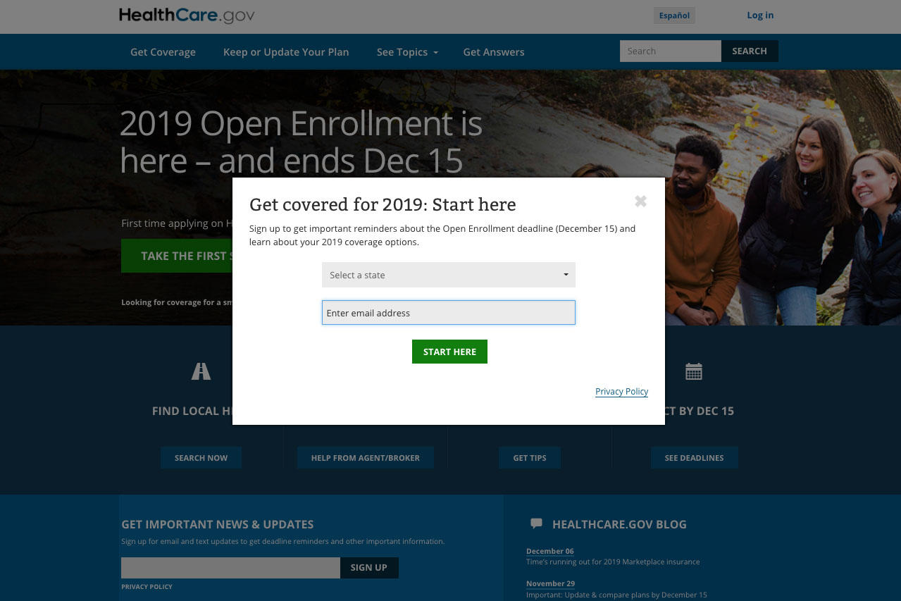 Open enrollment for health insurance marketplace closes Saturday