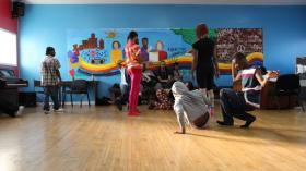Youth at the Ruth Ellis Center voguing