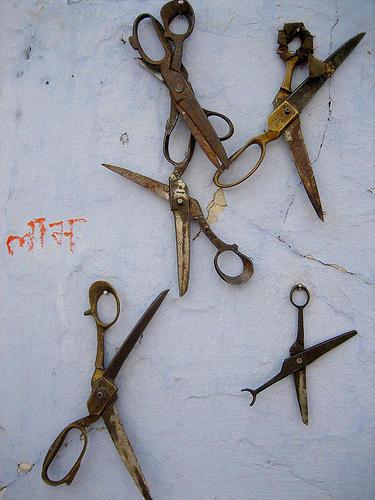 rusty scissors