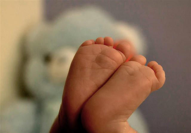 baby feet