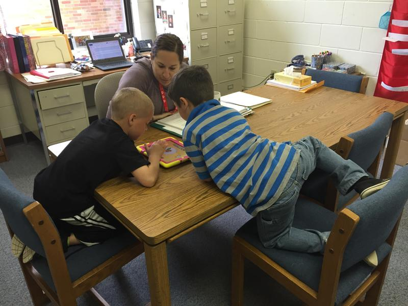 Brimley Elementary has a full-time speech and language pathologist on staff to work with students.