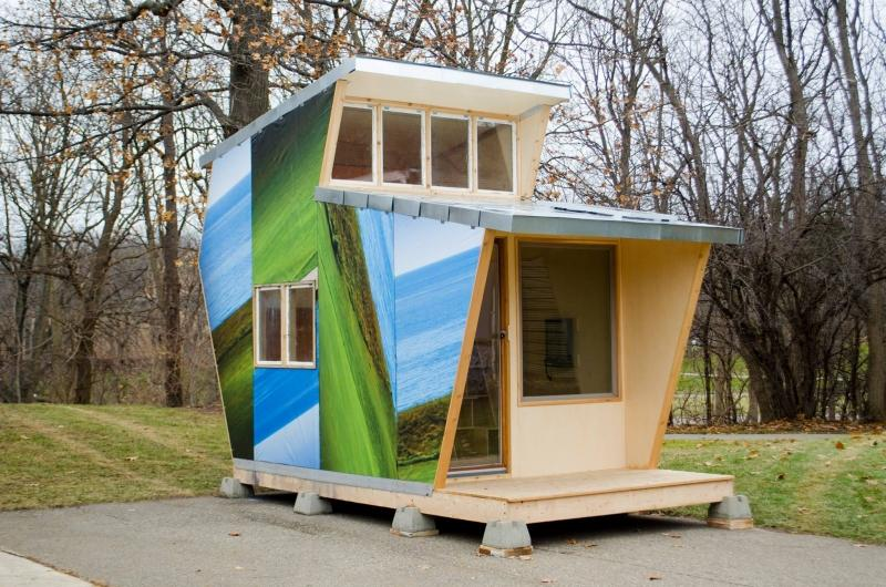 Tiny house villages make a big difference for homeless people