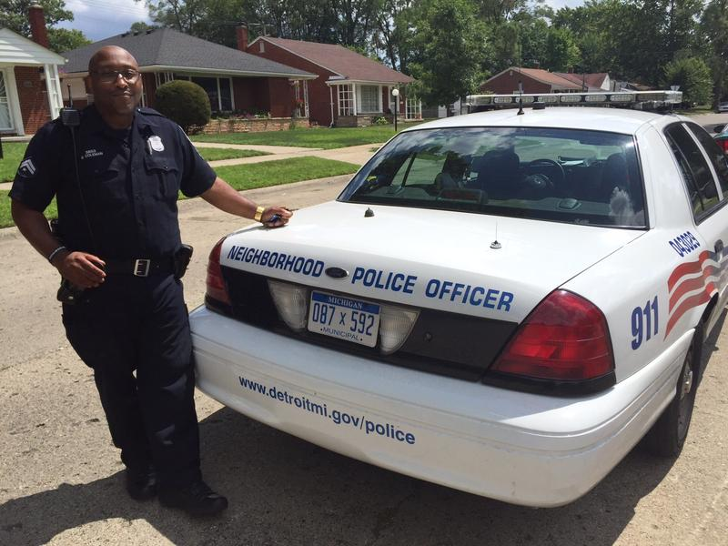 Baron Coleman is a Neighborhood Police Officer for the city of Detroit