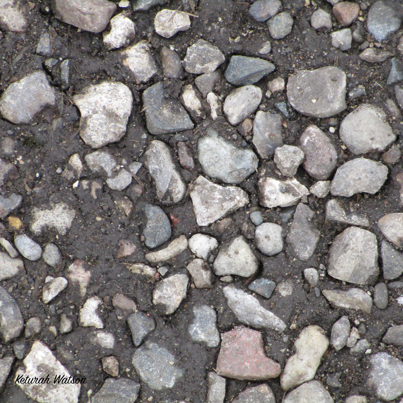 rocks on ground