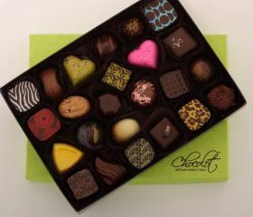 pledge drive february artisan chocolot