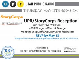 storycorps reception invitation