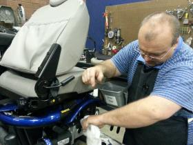 assistive technology, wheelchairs, CPD, CReATE