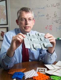 Dr. Larry Howell of Brigham Young University and his team build origami-inspired technologies.