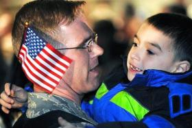 Military families in Cache Valley have the opportunity to celebrate the holidays thanks to Utah service groups.