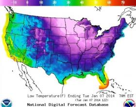 Cold air from the polar vortex will not reach Utah.