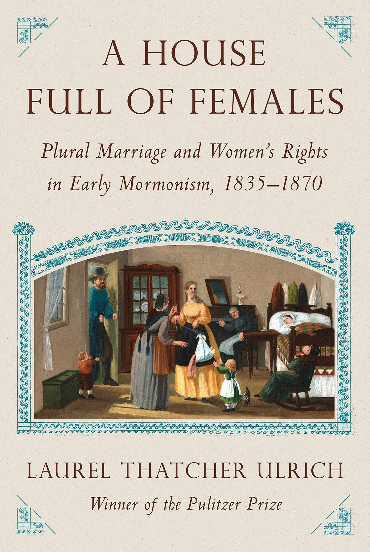 Book Cover - A House Full of Females